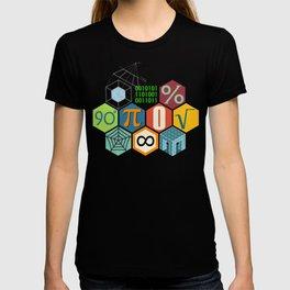 Math in color Black B T-shirt