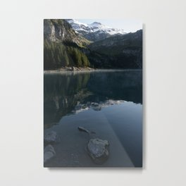 Oeschinen Lake Metal Print