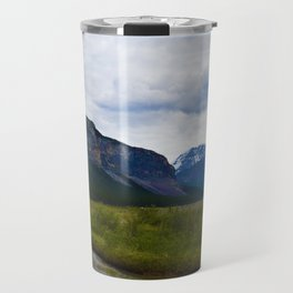Tangle Ridge in the Columbia Icefields area of Jasper National Park, Canada Travel Mug