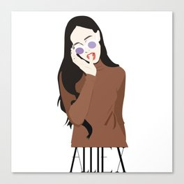 ALLIE X Canvas Print