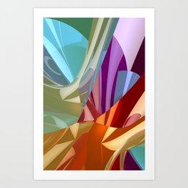 3d polynomials -1- Kunstdrucke
