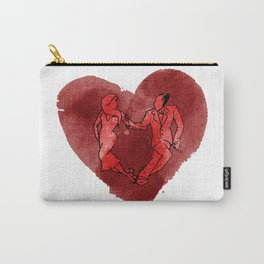 Colgada de Corazon Carry-All Pouch