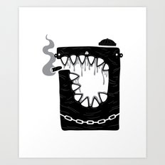 Zombie Hoodlum Art Print