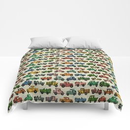 Cars and Trucks Comforters