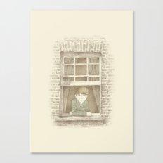 The Night Gardener - William Canvas Print