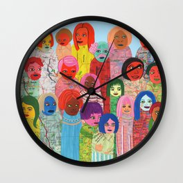 All the People Wall Clock