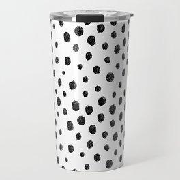 Messy Dots Travel Mug