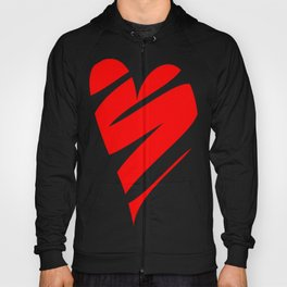 Stylized Heart Hoody
