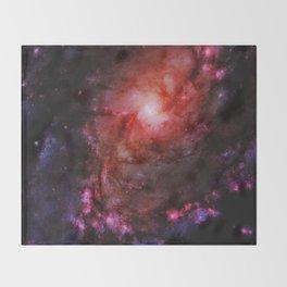 Monster of Messier 83 Throw Blanket