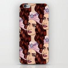 Tessellated Lady G iPhone & iPod Skin