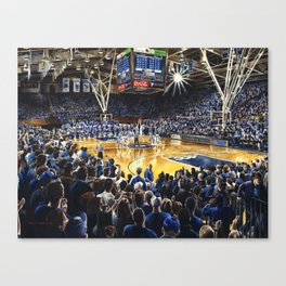 Tip-off, UNC at Duke Canvas Print