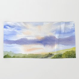 Waterfront Beach Towel