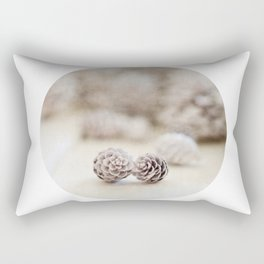 Winter White Rectangular Pillow