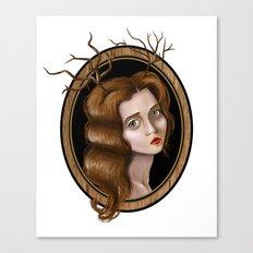 Lady Deer Canvas Print