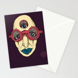 SEEK DEEP WITHIN Stationery Cards