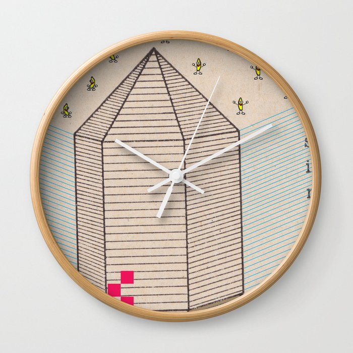 Fig 5. Primary Prism Banana Wall Clock