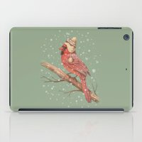 snow iPad Cases featuring First Snow  by Terry Fan