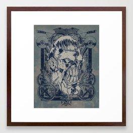 Classic Monsters Series: Franky Framed Art Print