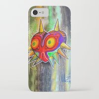 majora iPhone & iPod Cases featuring Majora mask by Lyxy