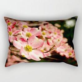 Close Encounter on a Spring Day Rectangular Pillow