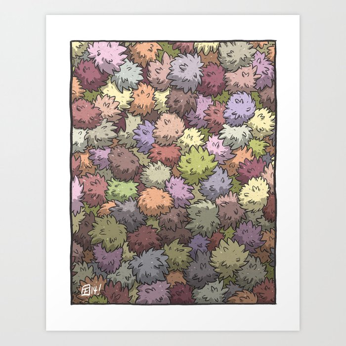 """T"" Is For ""Tribbles"" Art Print"