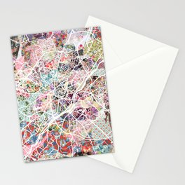 Limoges map Stationery Cards