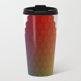 Lichtenberg-Mayer Colour Triangle variation, Remake using Mayers original idea of 12+1 chambers Travel Mug