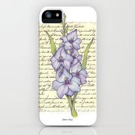 Gladiola Dragon iPhone Case