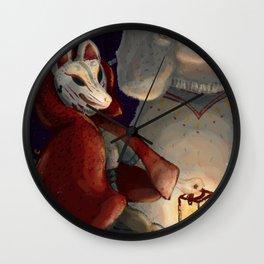 Ignis Fatuus Wall Clock