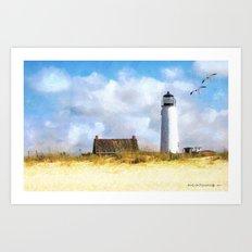 St. George Island Lighthouse Art Print