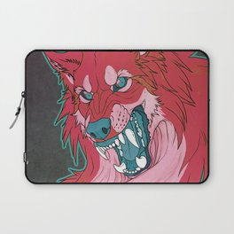 Ravewolf -Teal and Berry Laptop Sleeve