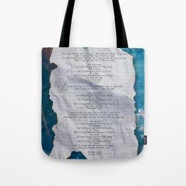 SLOW HANDS Tote Bag