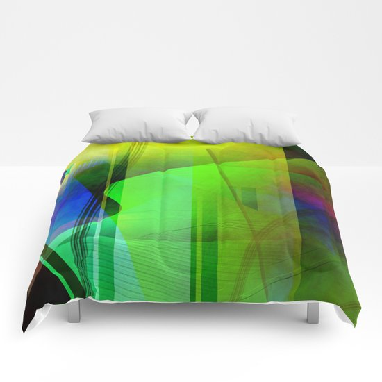 Multicolored abstract 2016 / 006 Comforters