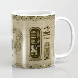 Egyptian Scarab Beetle Ornament Coffee Mug