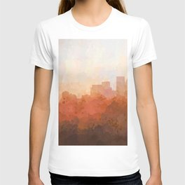 Minneapolis, Minnesota Skyline - In the Clouds T-shirt