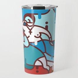 La Cueva 1920 - Armando Reverón - Icon version Travel Mug