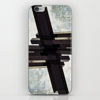crystal iPhone & iPod Skins featuring Crystal by CrookedHeart