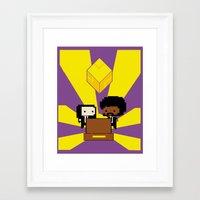 fez Framed Art Prints featuring Pulp Fez by Ihazart