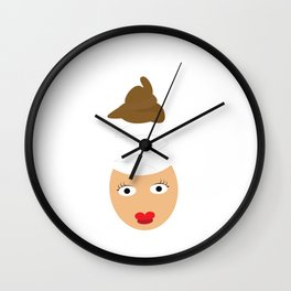 No brain Wall Clock