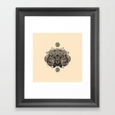 COSMIC NATURE III Framed Art Print
