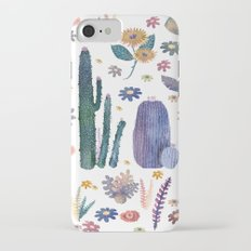 cactus king and Queen of the nature!! iPhone 7 Slim Case