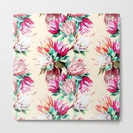 King proteas bloom II Metal Print