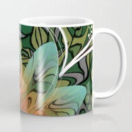 Hibiscus Green Tea Coffee Mug