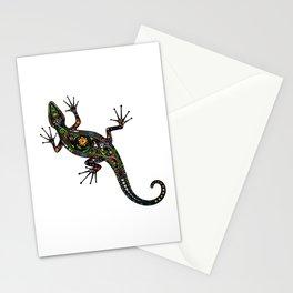 Lézard colors Stationery Cards
