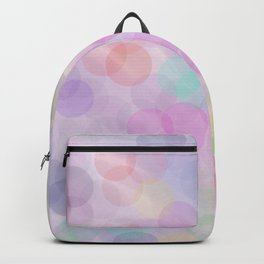 Colorful bubbles Backpack