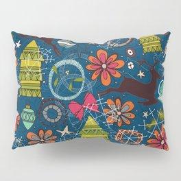 joyous jumble indigo Pillow Sham
