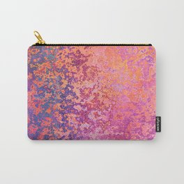 Abstract Splatter in Sunset Carry-All Pouch