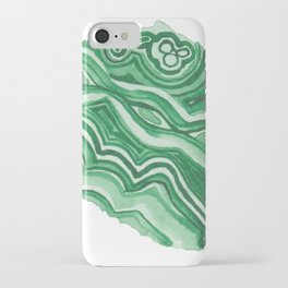 Malachite Specimen I iPhone Case