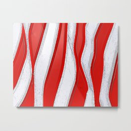 No Stars and All Stripes Metal Print