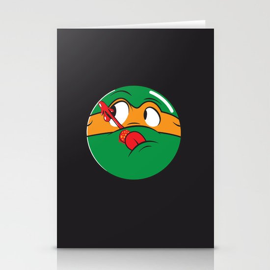 Who Watches the Pizza? Stationery Cards